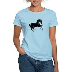 Horse Cut-Out Silhouette T-Shirt