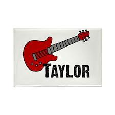 Guitar - Taylor Rectangle Magnet