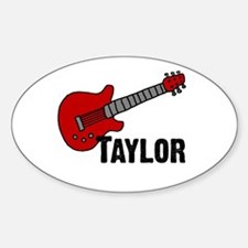 Guitar - Taylor Oval Decal