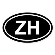 ZH Oval Decal