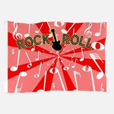 Rock And Roll Noise Pillow Case