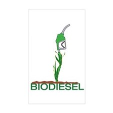Biodiesel-Plant Rectangle Decal
