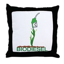 Biodiesel-Plant Throw Pillow