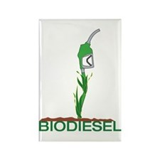 Biodiesel-Plant Rectangle Magnet
