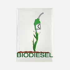 Biodiesel-Plant Rectangle Magnet