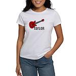Guitar - Taylor Women's T-Shirt
