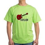 Guitar - Taylor Green T-Shirt