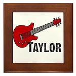 Guitar - Taylor Framed Tile