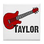 Guitar - Taylor Tile Coaster