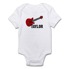 Guitar - Taylor Infant Bodysuit