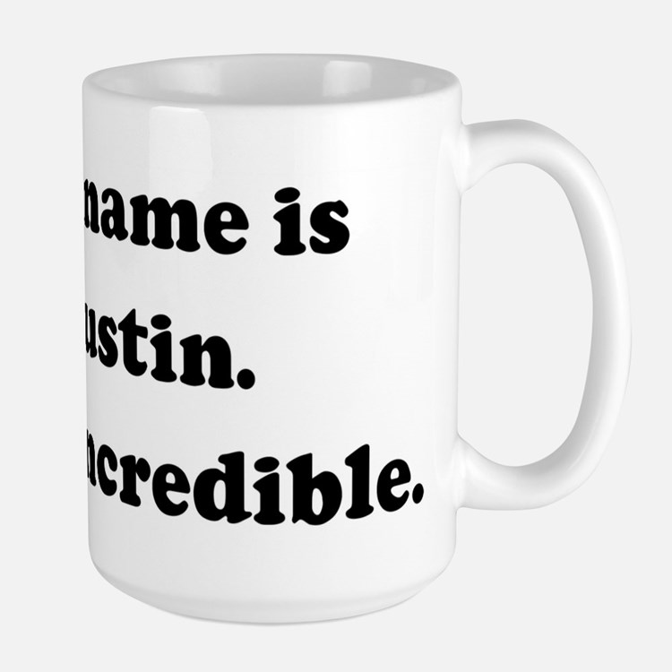 My name is Justin. Justincred Mugs