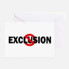 Stop Exclusion Greeting Cards (Pk of 10)