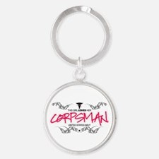 This Girl Loves Her Corpsman Keychains