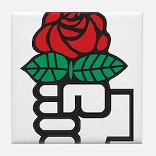 Socialism Tile Coaster