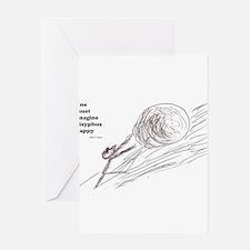 Sisyphus Greeting Cards
