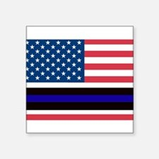 Police Blue Line Sticker