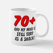 70 Plus Tarp As Shack Mugs