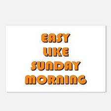 Easy Like Sunday Morning Postcards (Package of 8)