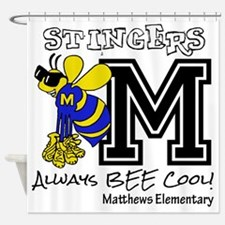 Cute Elementary Shower Curtain