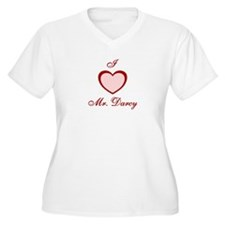 """I love Mr. Darcy"" T-Shirt"