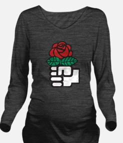 Socialism Long Sleeve Maternity T-Shirt