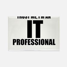 Trust Me, I'm An IT Professional Magnets