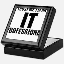 Trust Me, I'm An IT Professional Keepsake Box