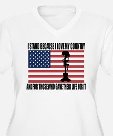 WHY I STAND T-Shirt