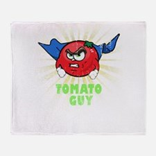 TOMATO GUY Throw Blanket