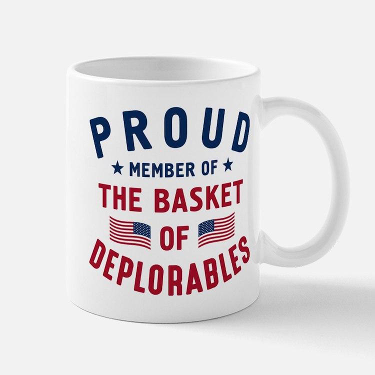 Proud Basket Of Deplorables Mugs