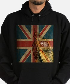 Cute Union jacks Hoodie (dark)