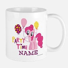 MLP Pinkie Pie Party Time Personalized Small Mugs
