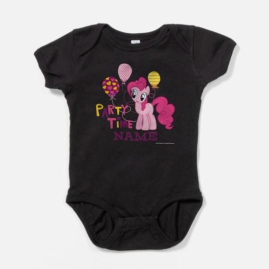 MLP Pinkie Pie Party Time Personaliz Baby Bodysuit