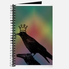 Crow with crown and key Journal