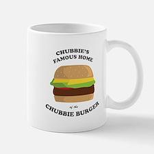 Chubbie's Famous Burger Mug