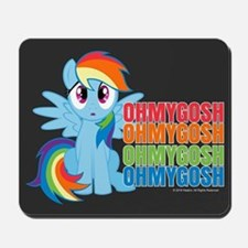 MLP Rainbow Dash OMG Mousepad