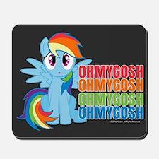 MLP Rainbow Dash OMG Mousepad