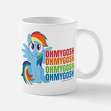 MLP Rainbow Dash OMG Small Mugs