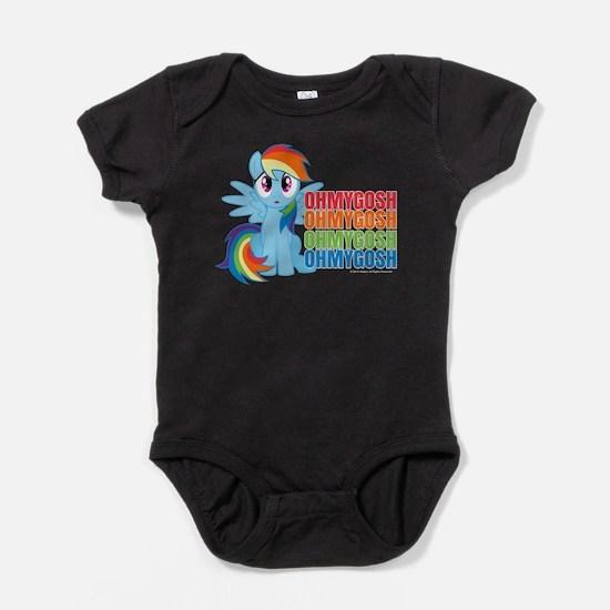 MLP Rainbow Dash OMG Baby Bodysuit