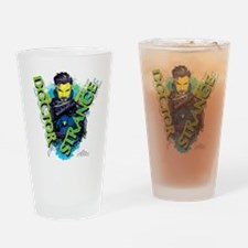 Doctor Strange Green Drinking Glass