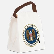 NSA Boom Logo Canvas Lunch Bag