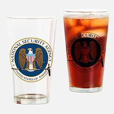 NSA Boom Logo Drinking Glass