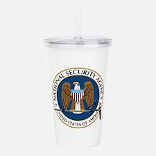 NSA Boom Logo Acrylic Double-wall Tumbler
