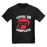 10th birthday Kids T-shirts (Dark)