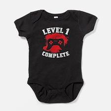 Level 1 Complete 1st Birthday Baby Bodysuit