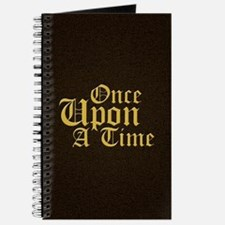 Once Upon a Time Leather Journal