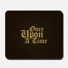 Once Upon a Time Leather Mousepad