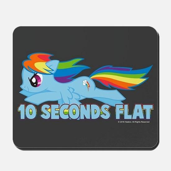 MLP Rainbow Dash 10 Seconds Mousepad