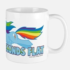 MLP Rainbow Dash 10 Seconds Small Mugs