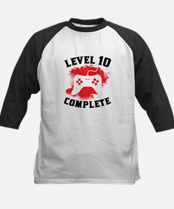 Level 10 Complete 10th Birthday Baseball Jersey